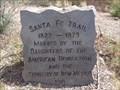 Image for Santa Fe Trail - Historic Markers - Santa Fe, New Mexico, USA.