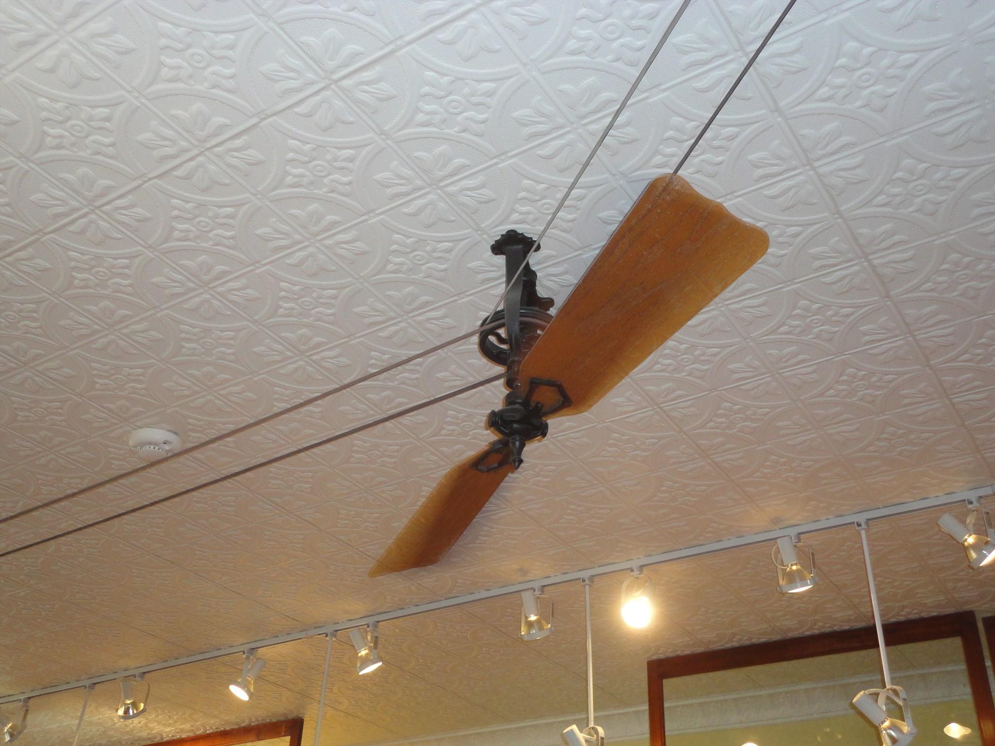 Belt Driven Ceiling Fans Home Decor