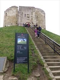 veritas vita visited Clifford Tower
