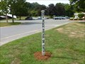 Image for St. Athanasius Church Peace Pole - Reading, MA