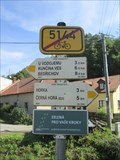 Image for Direction and Distance Arrows - Býkovice, Czech Republic