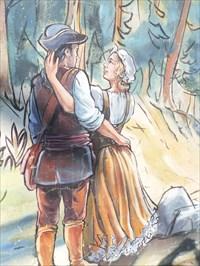 Les amoureux.....courir les bois