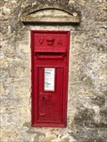 Image for Victorian Wall Post Box - Chedworth, Gloucestershire, UK