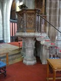 Image for Stone Pulpit, St. Laurence Church, Ludlow, Shropshire, England