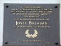 Image for Josef Balabán Memorial, Prague, CZ