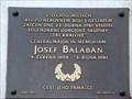 Image for Josef Balabán Memorial, Prague, CZ