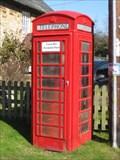 Image for Red Telephone Box - Main Street, Slapton, Northamptonshire, UK