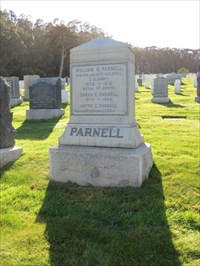 William R Parnell, MOH, San Francisco National Cemetery