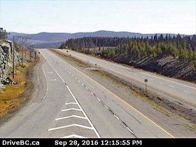 Elkhart East Webcam, Highway 97C, BC - Web Cameras on