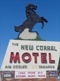 Image for Historic Route 66 -  New Corral Motel - Victorville, California, USA.