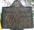 Image for Ward's Div. Crossed Peachtree Creek – GHM 060-29 - Atlanta, GA