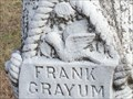 Image for Tombstone of Frank Grayum -- Fitzhugh Cemetery, Allen TX USA