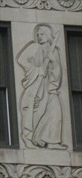 Image for 333 North Michigan Avenue Building Panels: The Pioneer Woman - Chicago, IL