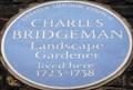 Image for Charles Bridgeman - Broadwick Street, London, UK