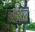 Image for Birthplace of Alexander Hamilton Stephens-GHM 131-2-Taliaferro Co