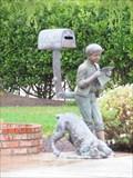 Image for Boy reading Mail - Santa Cruz, CA