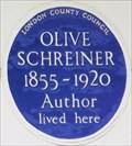 Image for Olive Schreiner - Portsea Place, London, UK