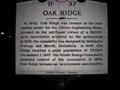 Image for OAK RIDGE ~ 1F 37