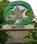 Image for Village Sign, Henham, Essex, UK