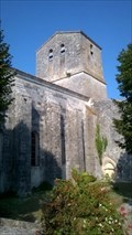 Image for Clocher Eglise Saint Pierre de Soubise,Nouvelle Aquitaine, France