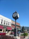 Image for Depot Town Clock, Ypsilanti, Michigan