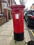 Image for Victorian Pillar Box - Parliament Hill, Hampstead, London NW3, UK