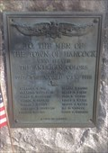 Image for World War Memorial, Hancock, Massachusetts