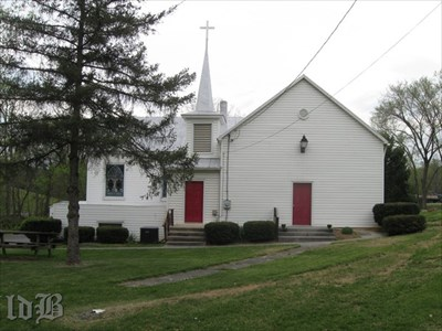 Asbury Chapel still exists although it was dismantled and rebuilt following the original design in 1916.