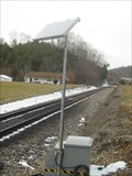 Image for Solar powered train sensor - West of Gate City, VA