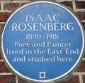 Image for Isaac Rosenberg - Whitechapel High Street, London, UK