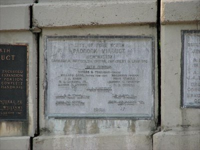 1965 Renovation Plaque