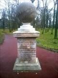 Image for Spherical sundial in Herrenkrug Park, Magdeburg; Germany