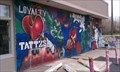 Image for Loyalty Tattoo Mural - Clearfield, Utah