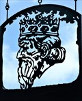 Image for Kings Head - Pub Sign - Llangennith, Wales.