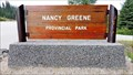 Image for Nancy Greene Provincial Park - Rossland, BC