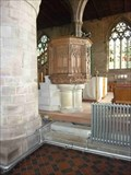 Image for Pulpit, Priory Church, Leominster, Herefordshire, England