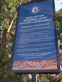 The sign at the entry to this park.0752, Thursday, 27 December, 2018