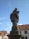 Image for Socha sv. Jana Nepomuckého - Chrudim, Czech Republic