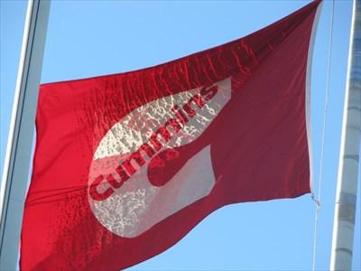 Cummins Inc  - Corporate Headquarters - Columbus, Indiana - Flags of