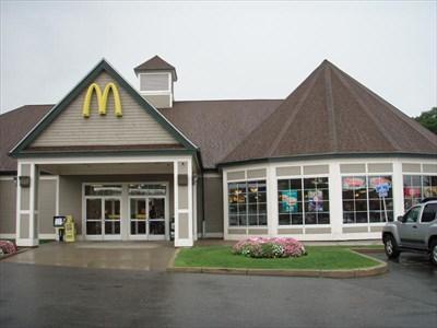 Mcdonalds Lexington Rest Area I 95n Lexington Ma