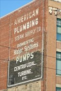 Image for American Plumbing Ghost Sign - Tacoma, WA