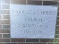 Image for 1951 - Brooklet Methodist Church - Brooklet, GA