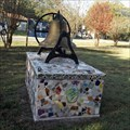 Image for Mosaic Bell Pedestal - Smithville, TX