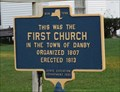 Image for This was the First Church