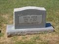 Image for 102 - Sallie Fizer - Trice Hill Cemetery - OKC, OK
