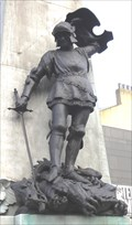 Image for St. George on the World War I Memorial – Leeds, UK