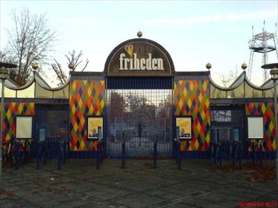 Tivoli Friheden entrance.