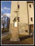 Image for Stone Churchyard Cross (Church of St. John of Nepomuk) - Brno, Czech Republic
