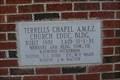 Image for 1981 - Terrell's Chapel AME Zion Church Cornerstone, Pittsboro, NC, USA