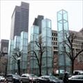Image for Holocaust Memorial - Satellite Oddity -  Boston, Massachusetts, USA.